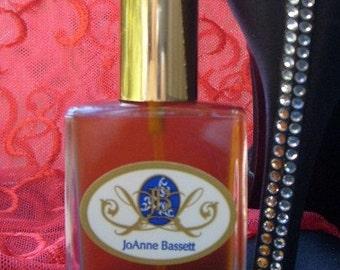 Perfume - Natural Perfume Samples, organic perfume botanical perfume, JoAnneBassett - musky, rose oil, jasmine, ginger, violet, gift for men
