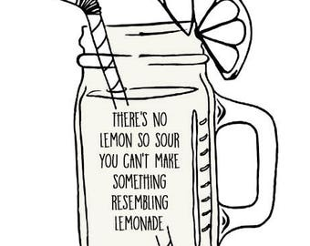 There's no lemon so sour... wall decal, This Is Us