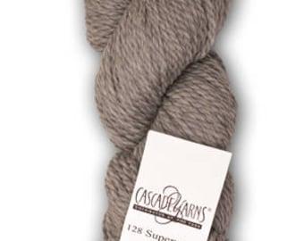 Cascade 128 Superwash Bulky Yarn Solid Colors.  100% Superwash Merino Wool