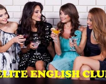 Elite English Club 1 Year Membership
