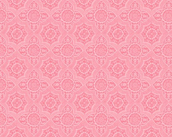 Meadows Lace in Pink by Ana Davis for Blend Fabrics - 1/2 Yard