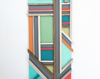 Mid Century Modern Inspired wall sculpture