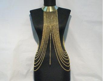 body chain, body chain necklace, gold body chain, chain necklace, body chain gold, body chain jewelry