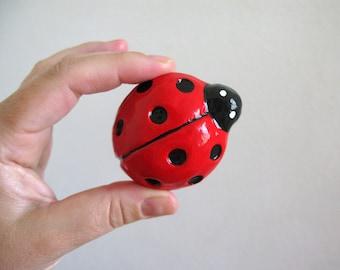 Ladybug Knob - dresser drawer knob for kids room