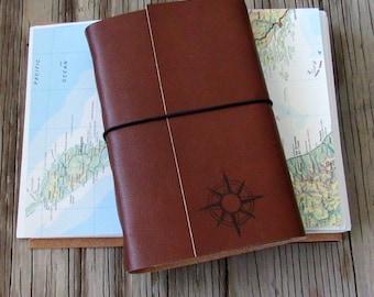Kompass Explorer, größere Reisetagebuch mit Karten von tremundo