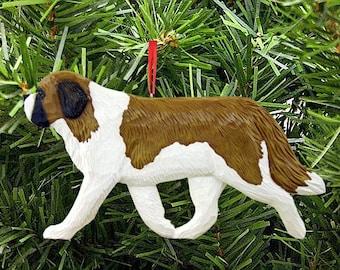 St. Bernard Dog Breed Ornament-St. Bernard-Ornament