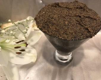 Vanilla Latte Coffee Scrub