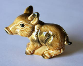 Goebel Pig Figurine From Germany