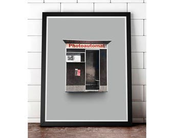 Berlin Photoautomat - Gallery print
