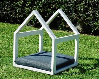 Dog Bed -  Dog House - Framed Dog Bed - Cat Bed - Cat house - Pet Bed - Pet furniture - Pet House