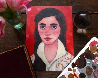 Sarah from The Labyrinth Print