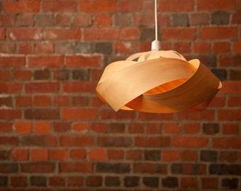 The Wrap - wood veneer lightshade