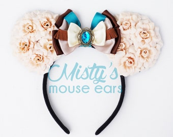 NEW DESIGN! Inspired by Pocahontas Mouse Ears