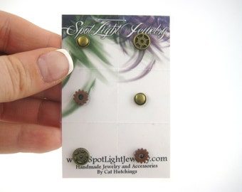 Eye Decals Womens Steampunk Clothing Steampunk Accessories Steampunk Mask Clock Part Stempunk Gears 6pcs 36A