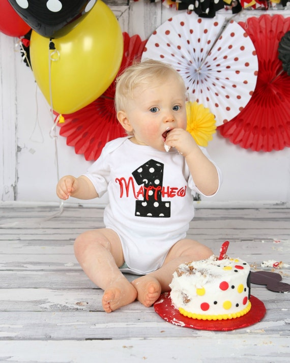 first birthday outfit boy Personalized Baby Boys First