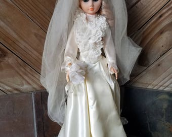 Vintage Bride Doll  By Boutique Doll Corp