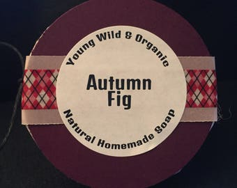Autumn Fig || Natural Goat's Milk Soap