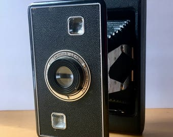 Vintage Jiffy Kodak Series ll Six-16 Folding Camera with Original Box for 116 Film 1937-42