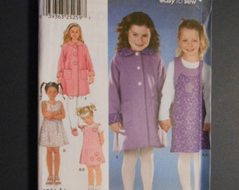 McCalls 9928,  Jumper, coat,  size 5, 6, 7, 8