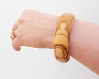 Wooden bracelet  / Wooden bangle / Olive Wood Bracelet / Gift for her
