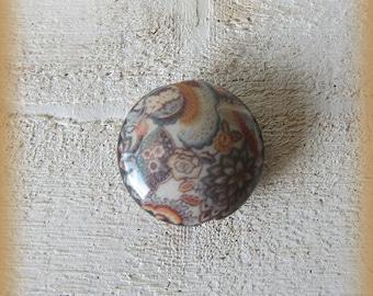 Big porcelain bead