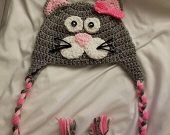 Adorable cat hat