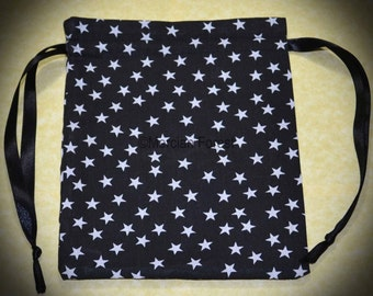 Starlight Handmade Tarot or Rune Bag for Pagan, Wiccan, Witch, Night Sky