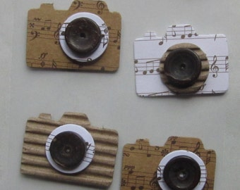Lot of eight CAMERAS - handmade in India