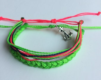 Neon Anchors Away Double Stack