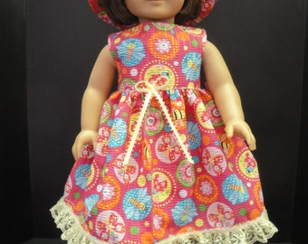 2 piece outfit made to fit American Girl and most other 18 in. dolls