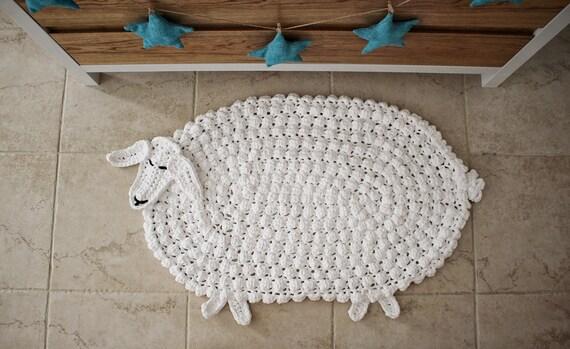 Crochet Rug Pattern Animal Rug Pattern Crochet Animal Rug