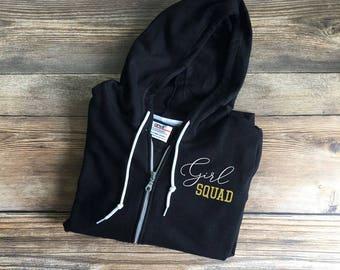 girl squad goals, girl squad shirt, girl squad tee, girls squad, hoodie, sweatshirt, sweater, womens squad tee, squad girl, girl power shirt