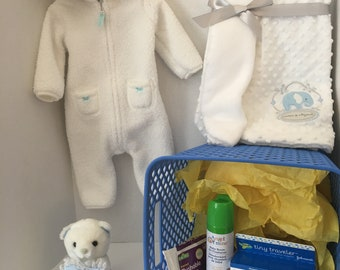 Baby Boy Shower Basket -It's A Boy