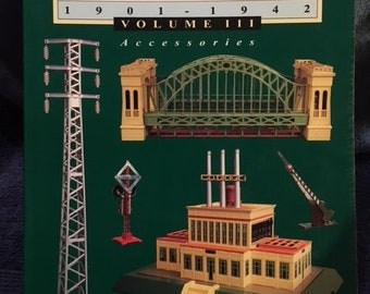 Greenbergs Guide To Lionel Trains 1901-1942 Volume III Accesories