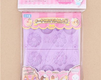 205950 purple 3D molds for clay biscuit