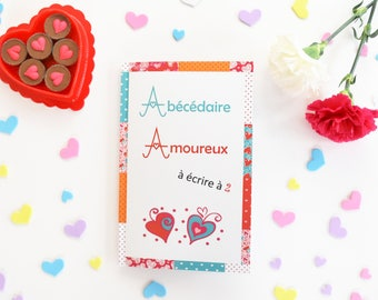 Love alphabet (vitamin colors)