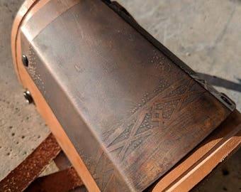 Dark Copper Dwarven Bracer