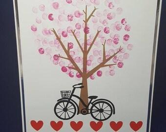 Blossom & Bike Card