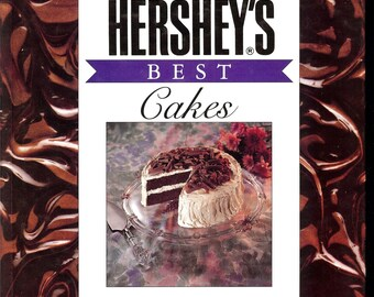 Hershey's Best Cakes 1992  Wilton House 1st Ed By Marjorie Anderson Over 70 Cakes GIFT QUALITY Never Used Illustrated in Color