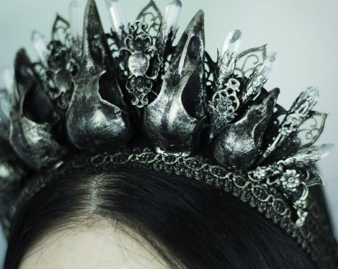 Nevermore Crow Crown