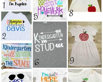 Back To School! T-shirt or Dress