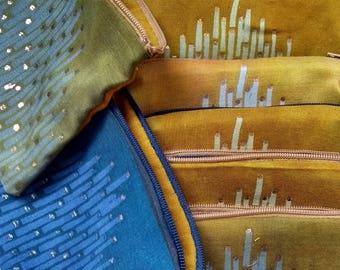 Shantung Silk Purses