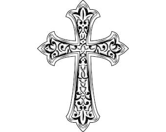 Cross SVG, Christian SVG, Cross clipart, Christian Cross svg, Celtic Cross svg, Silhouette, SVG, Graphics, Illustration, Logo, Digital