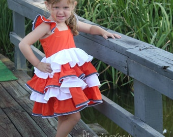Finding Nemo Dress - Nemo Dress - Finding Dory Dress - Little Girls Nemo Dress - Nemo Costume - Girls Nemo Dress - Girls Nemo Costume - Nemo