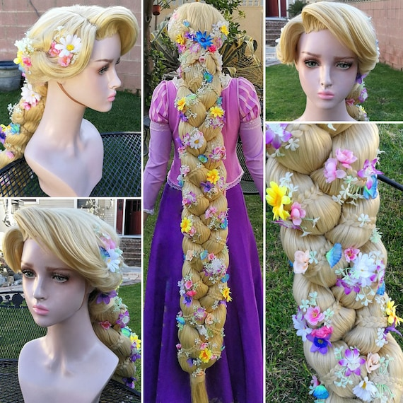 Rapunzel Wig Disney Cosplay Tangled Princess Hairstyle