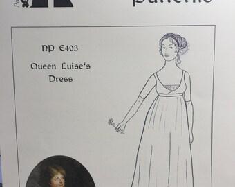 Regency Gown Pattern - Queen Louise of Prussia