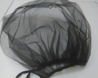 1940s birdcage veil
