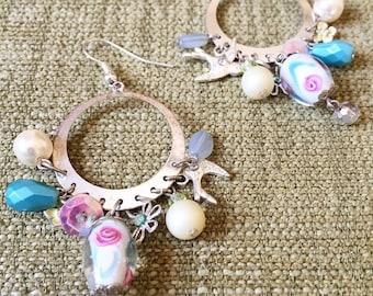 Charm ear rings