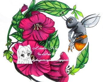 Bee-utiful Spring - Digital Stamp