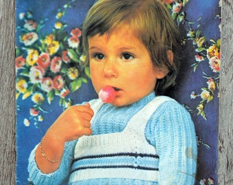 Knit Baby fashion 21 (Vintage) magazine